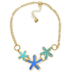 NWOT [betsey johnson] starfish necklace